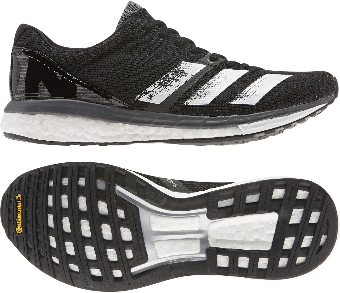 adidas Adizero Boston 8 Scarpe Donna, core black/footwear white/grey five su Addnature ePglA